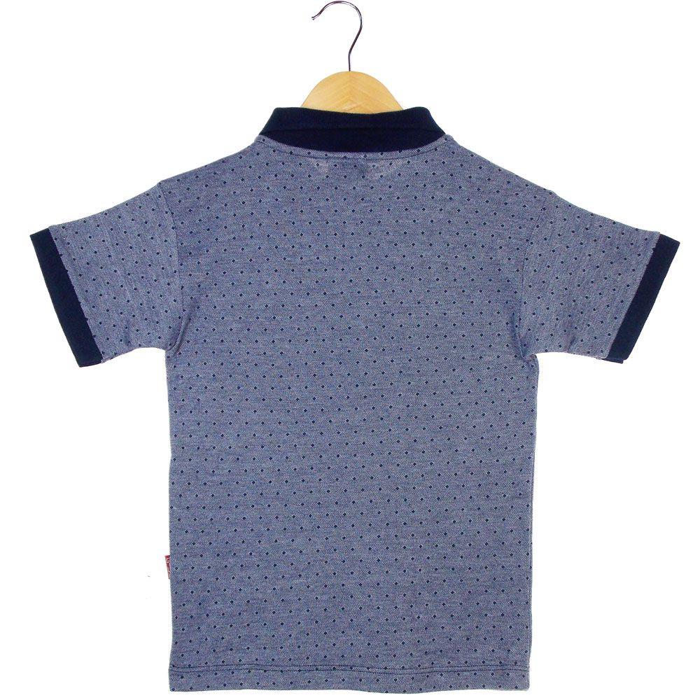 Camisa Pólo G-91 Estampa Bordado