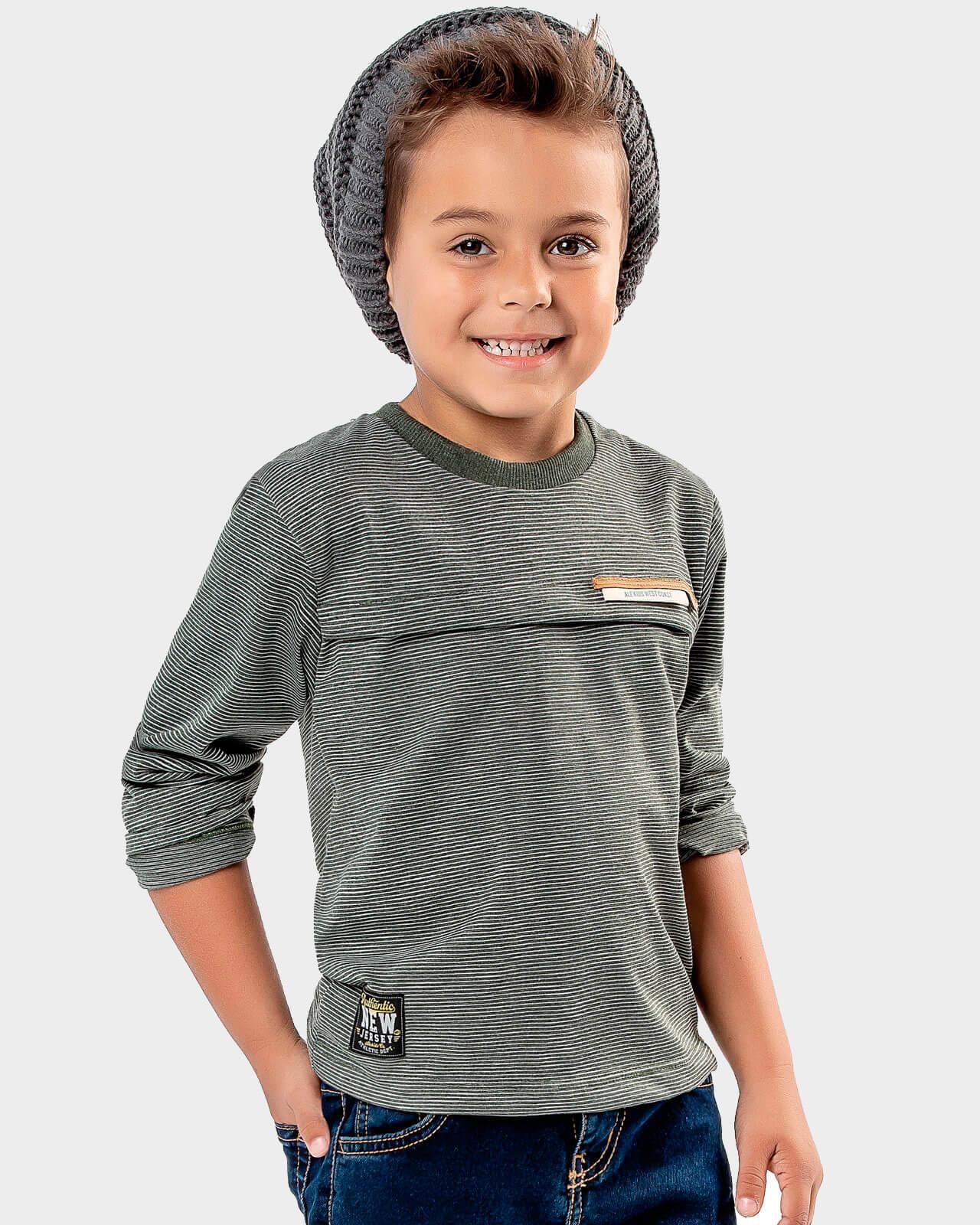 Camiseta Infantil Alekids New Jersey