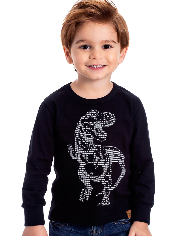 Camiseta Infantil Serelepe Dino