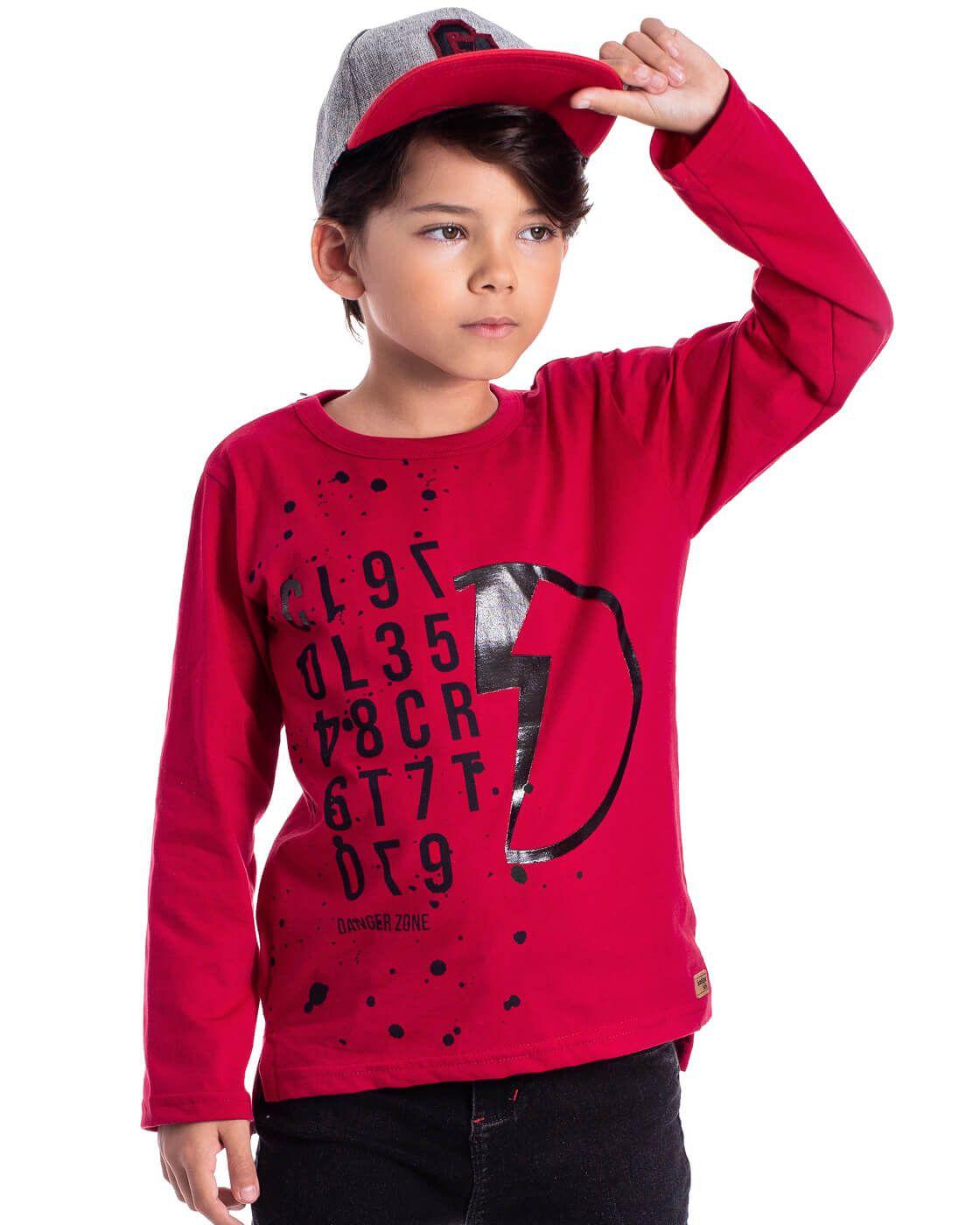 Camiseta Infantil Serelepe Malha