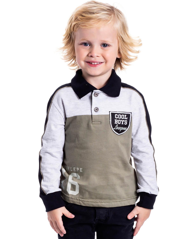 Camiseta Infantil Serelepe Polo
