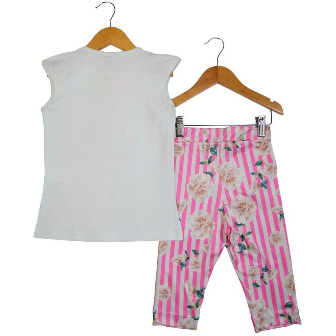 Conjunto Alekids Blusa Calça Estampada