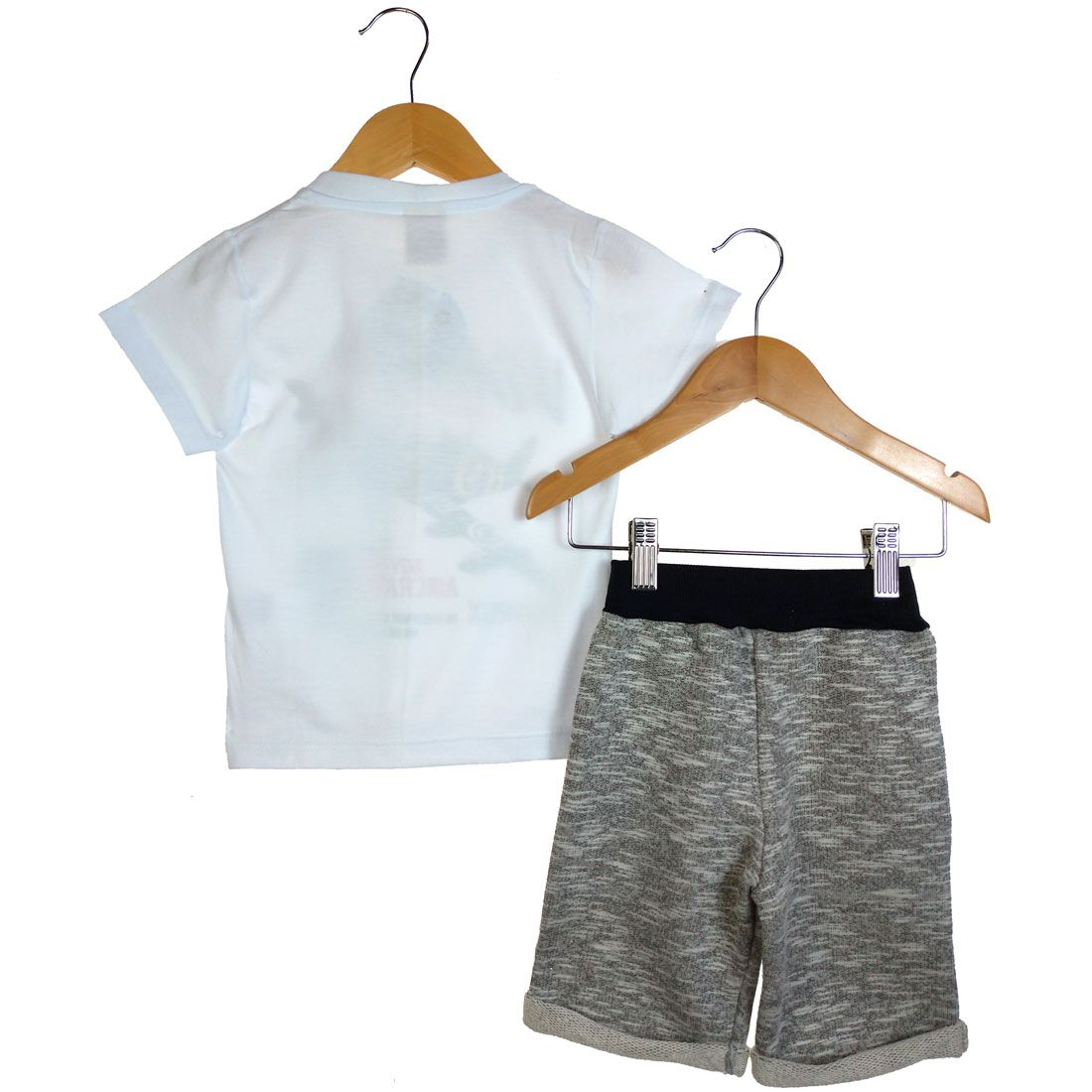 Conjunto Alekids  Camiseta e Bermuda Vintage
