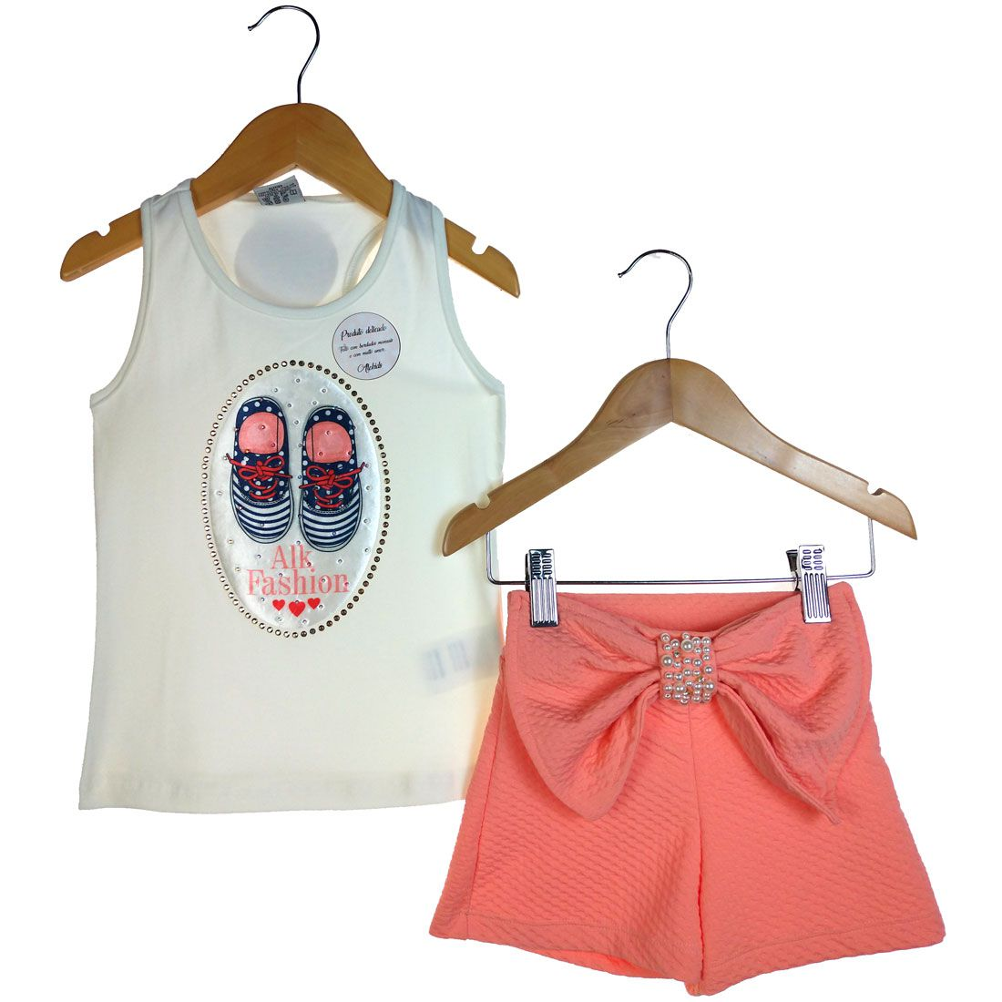 Conjunto Alekids Regata e Short Fashion