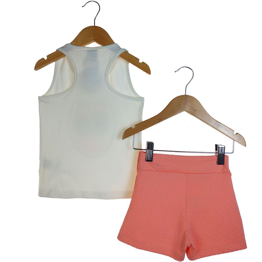 Conjunto Alekids Regata e Short Fashion
