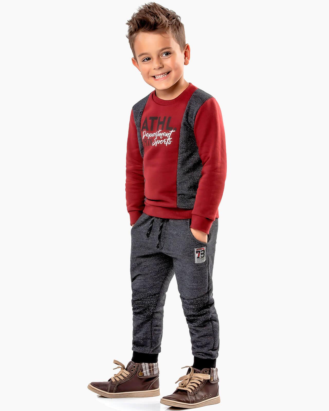 Conjunto Infantil Alekids Recortes