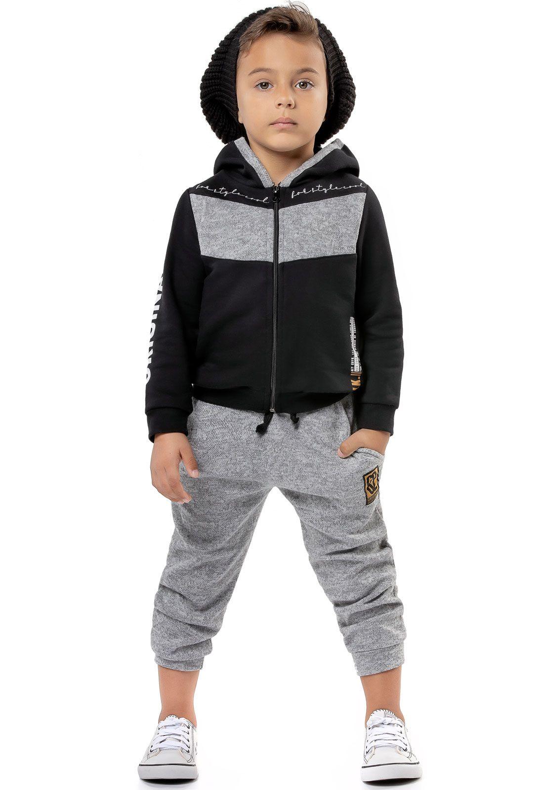 Conjunto Infantil Alekids Style Cool