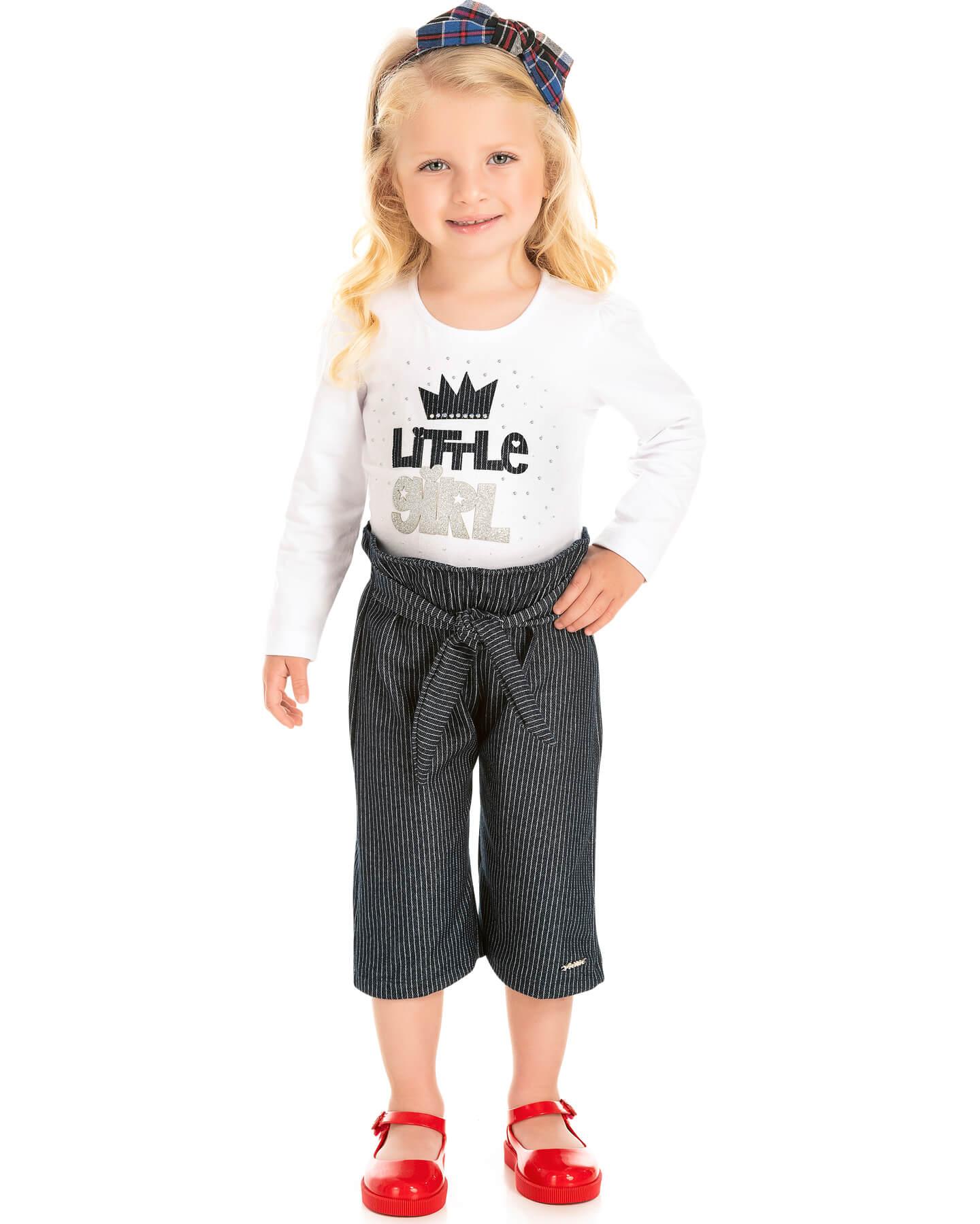 Conjunto Infantil Pic Nic Blusa e Calça