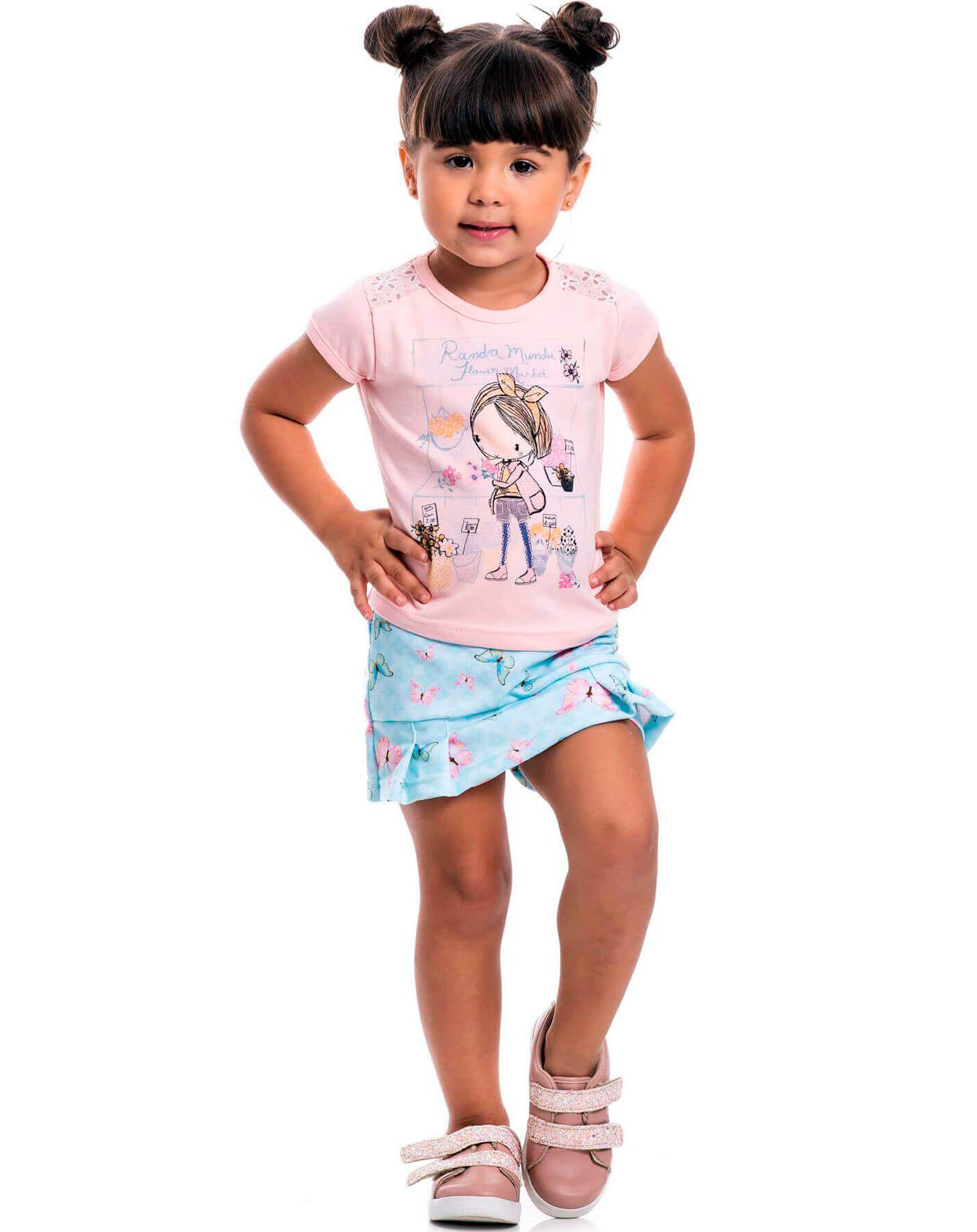 Conjunto Infantil Randa Mundu Ballet