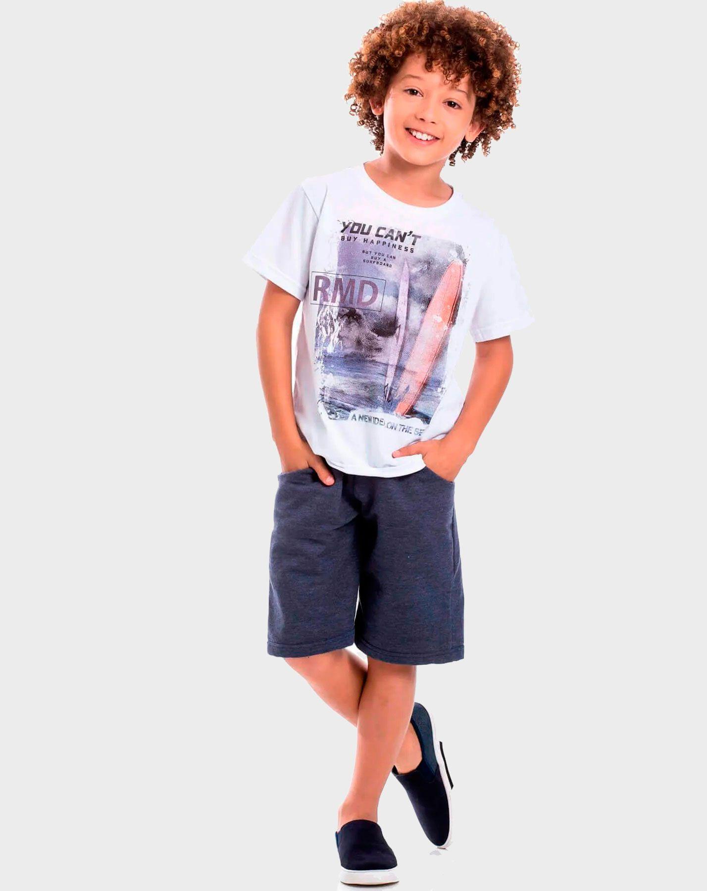 Conjunto infantil Randa Mundu Camiseta Bermuda