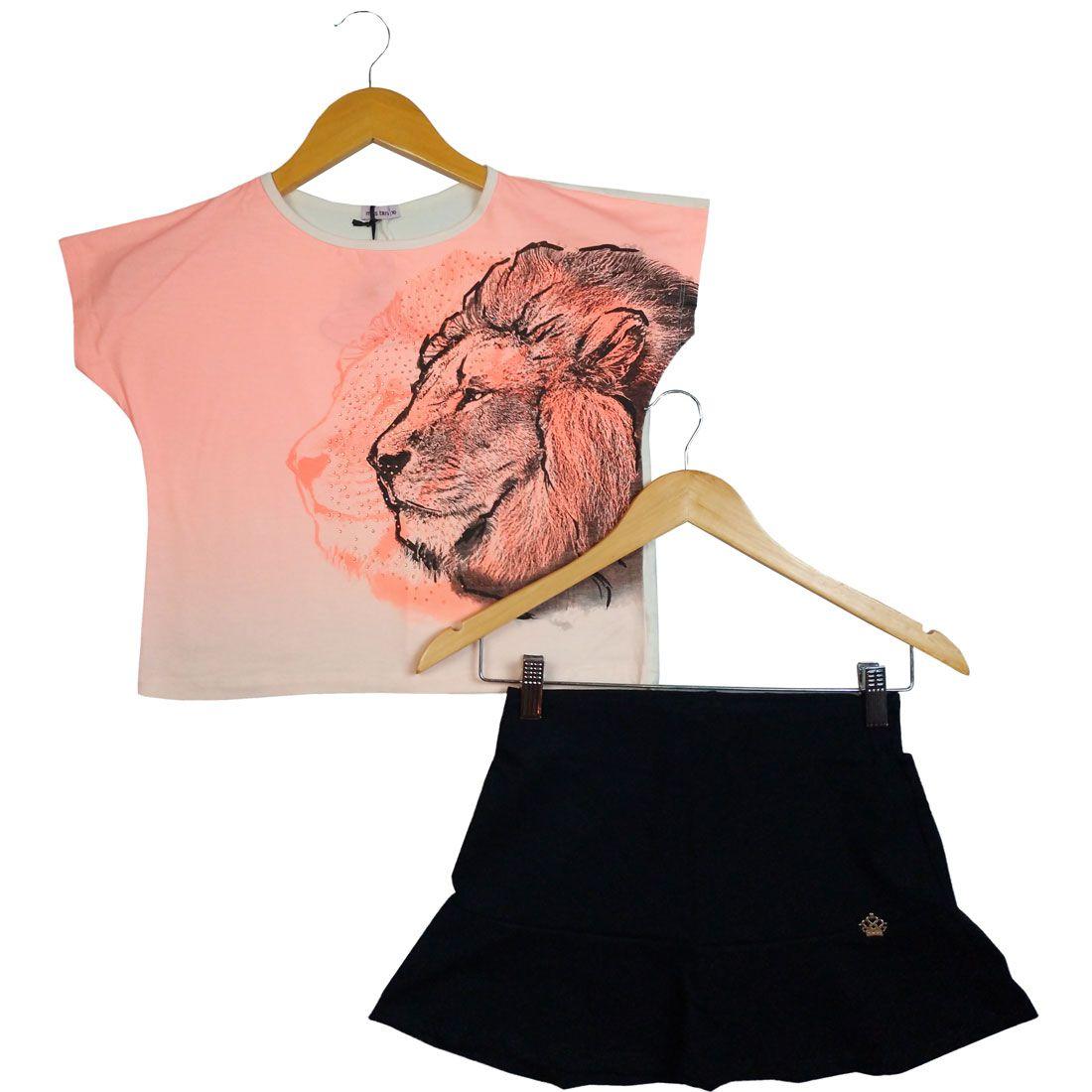 Conjunto Turma da Malha Leão