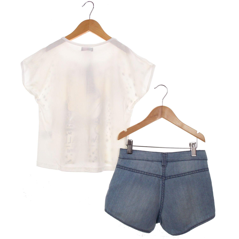 Conjunto Turma da Malha Lilysky Blusa Short