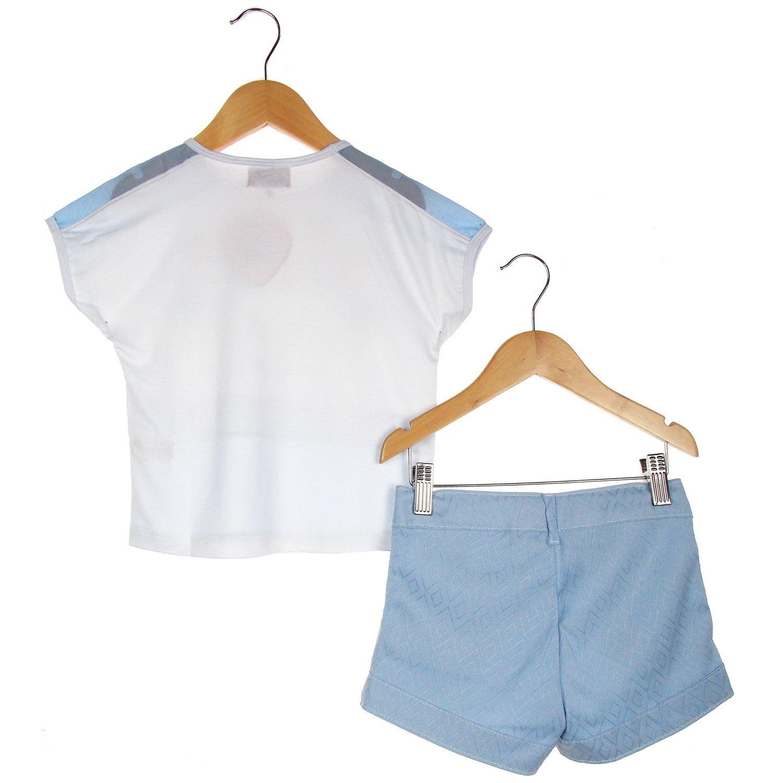 Conjunto Turma da Malha Memy Blusa Short