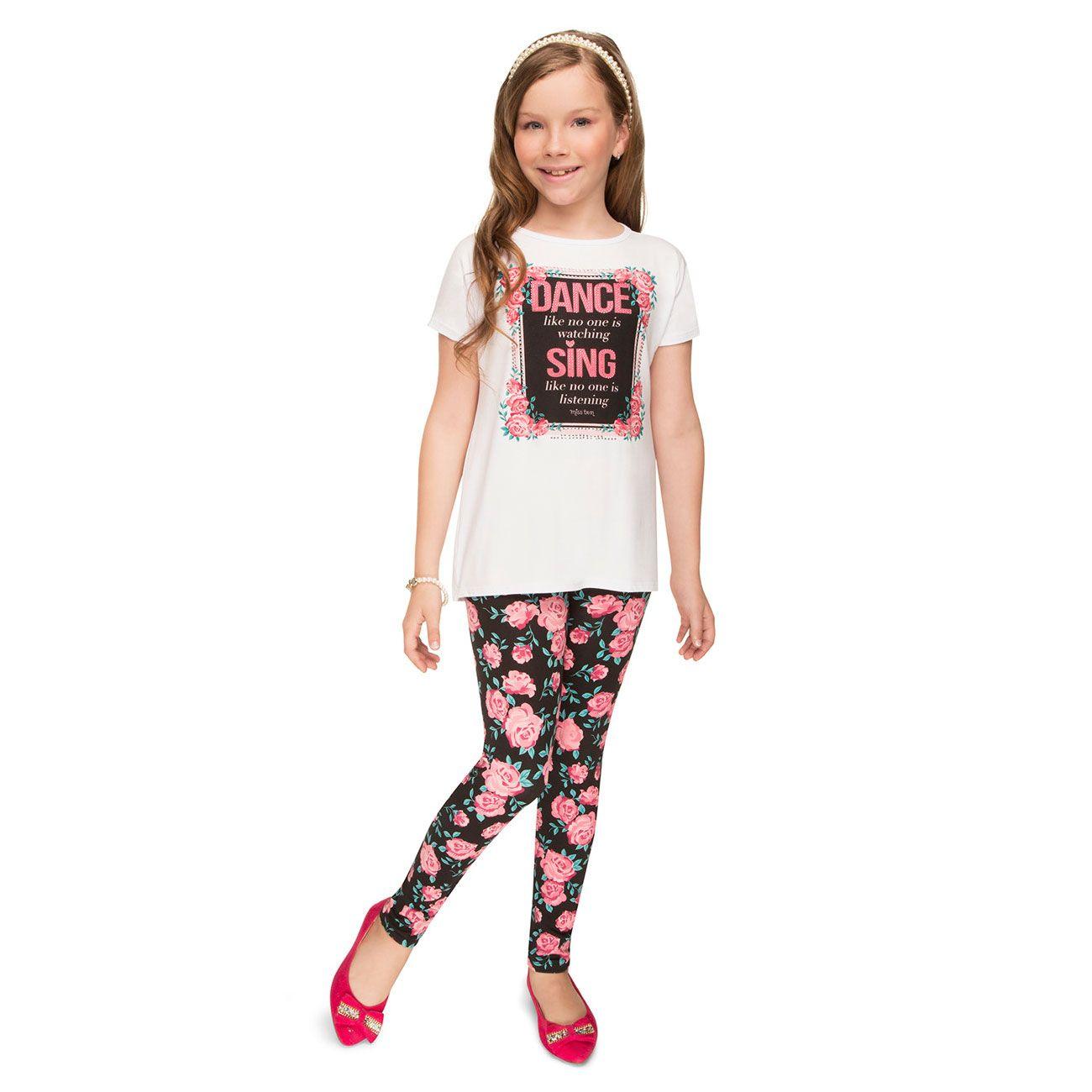 Conjunto Turma da Malha Miss Blusa Calça