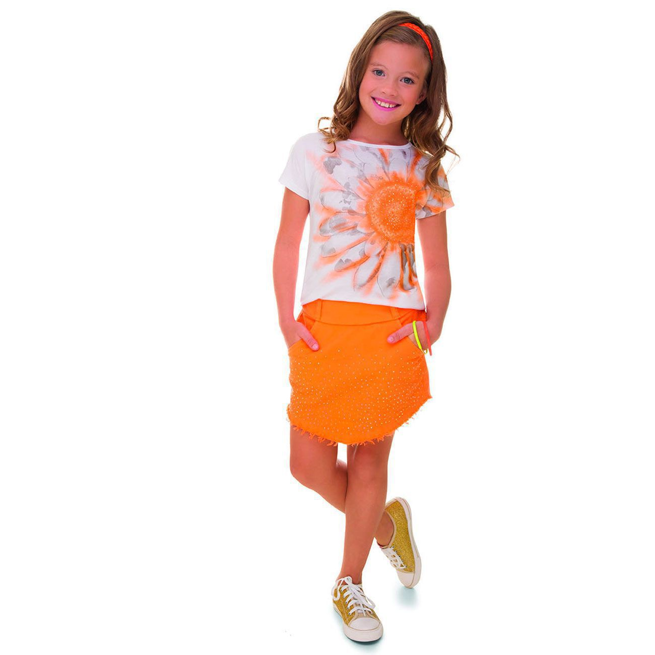Conjunto Verão Teen Turma da Malha  Miss TRM