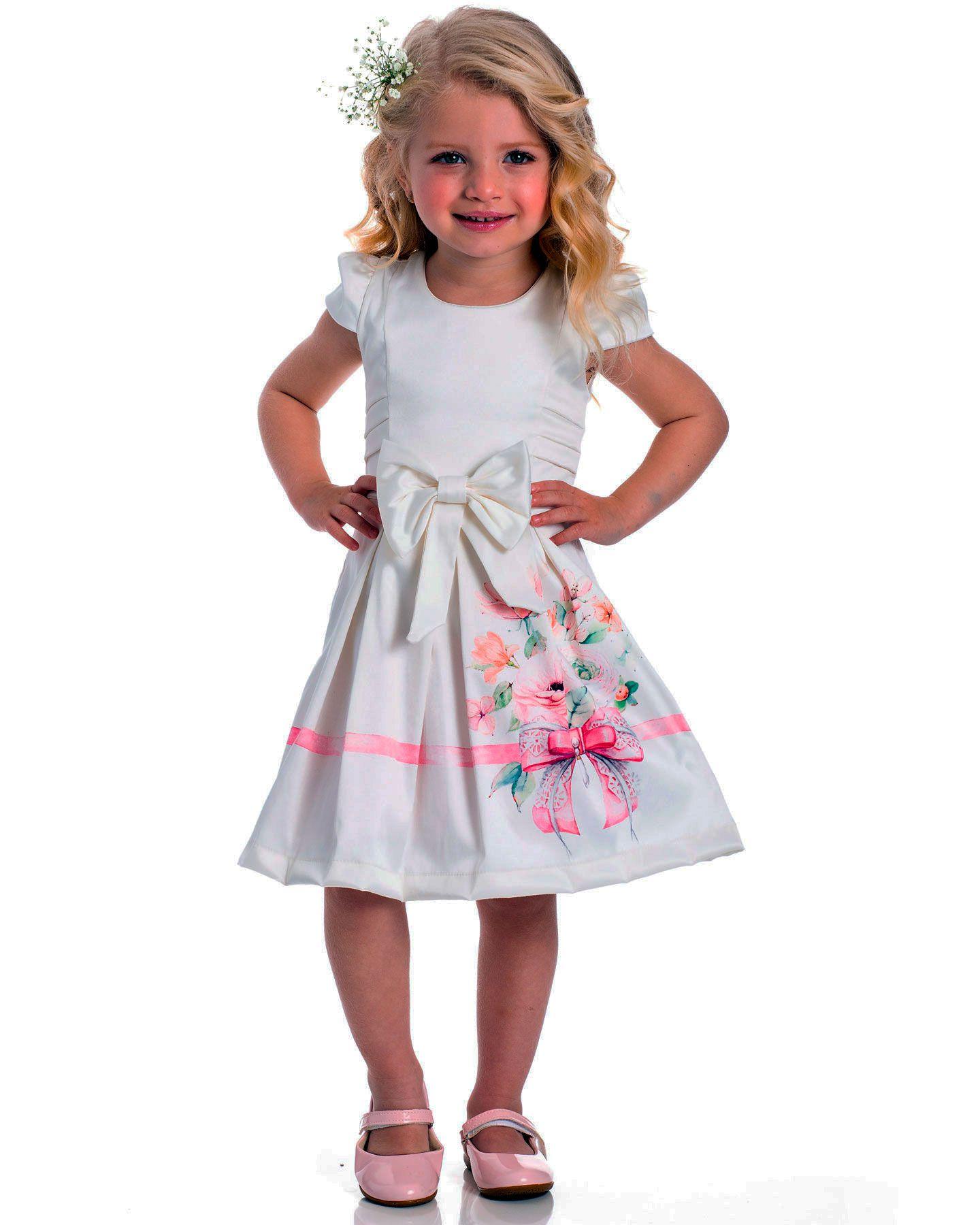 Vestido Festa Infantil Serelepe Delicato