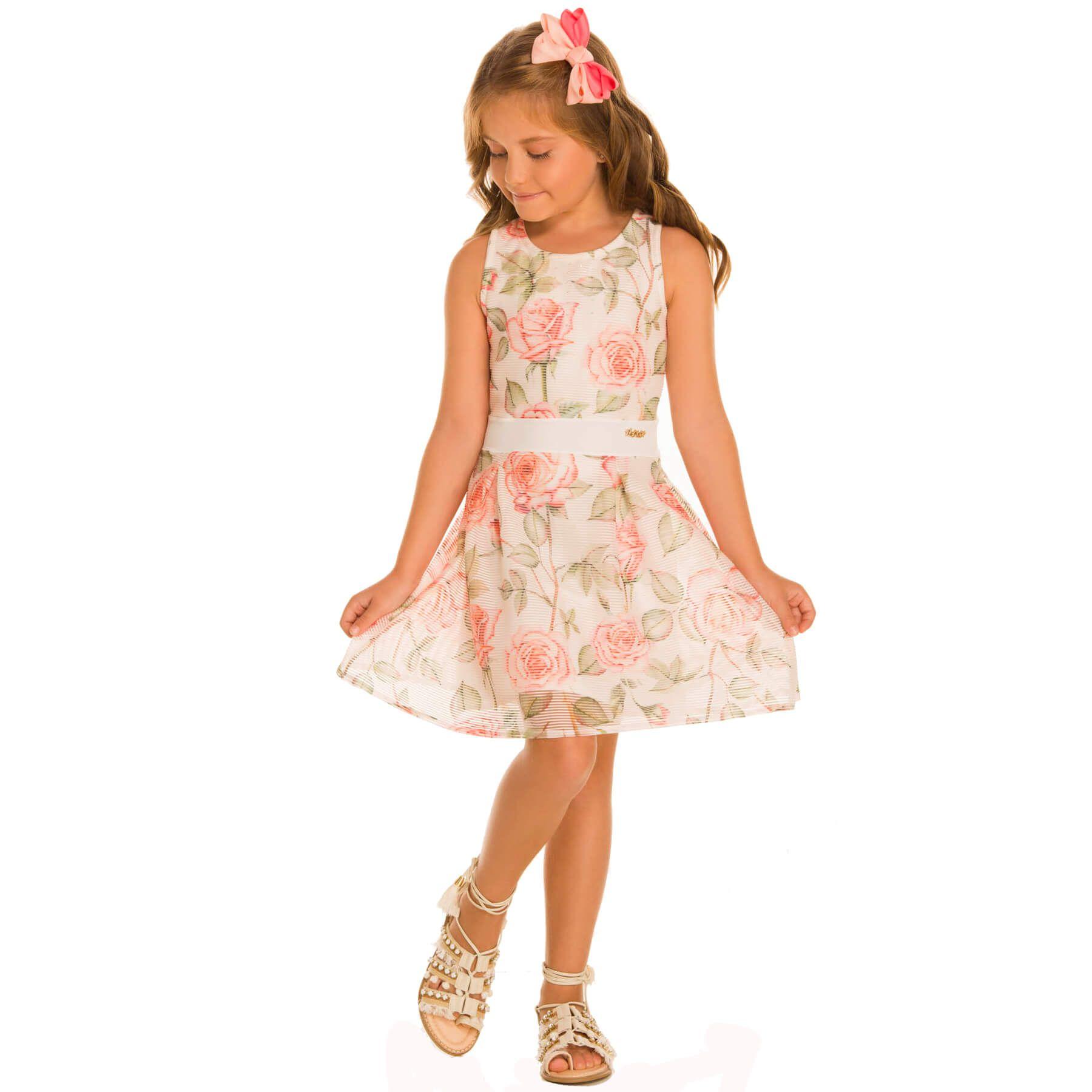 Vestido Infantil Alekids