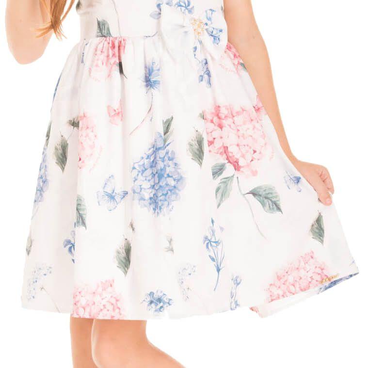 Vestido Infantil Minimour Hortência