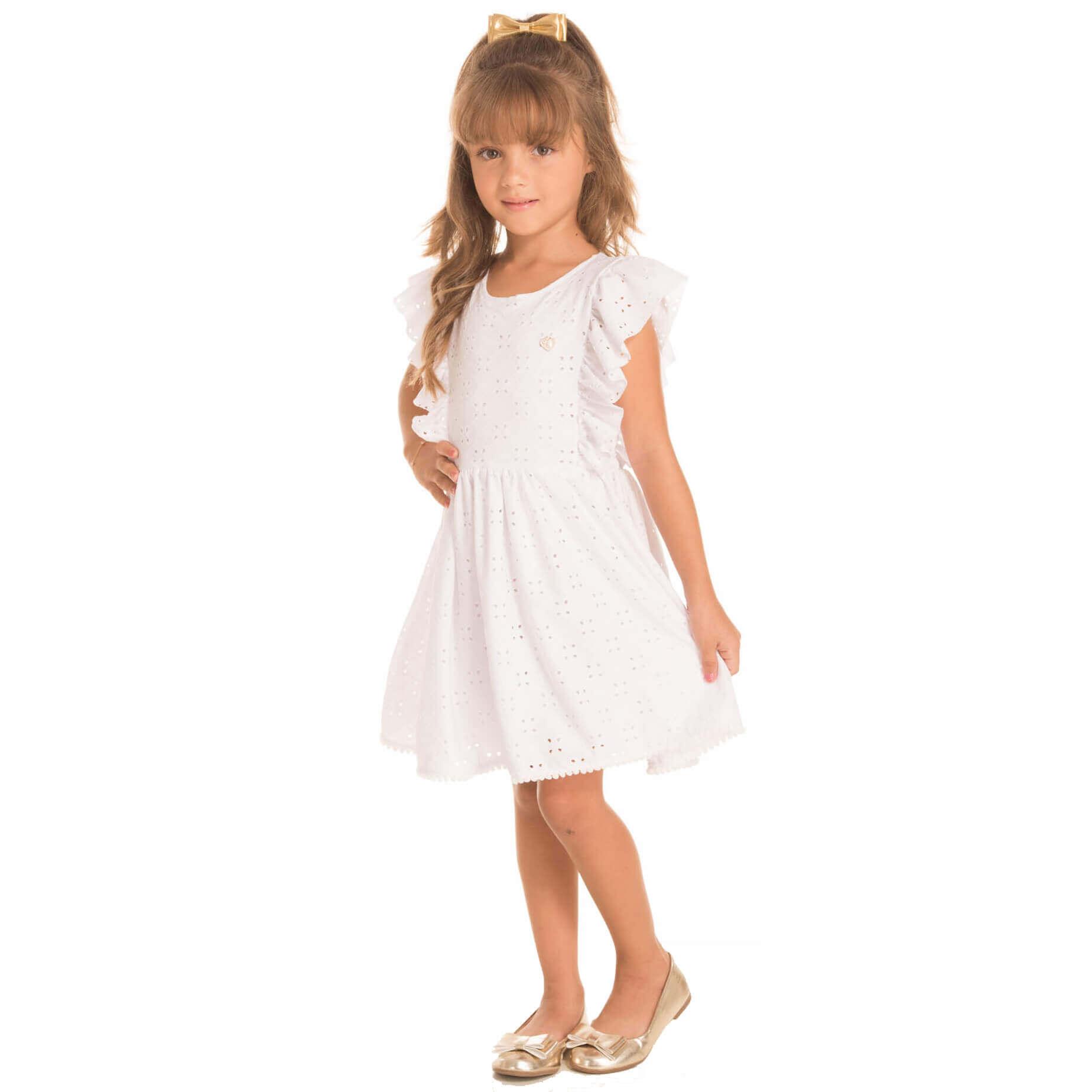 Vestido Infantil Minimour Lasei Bababo