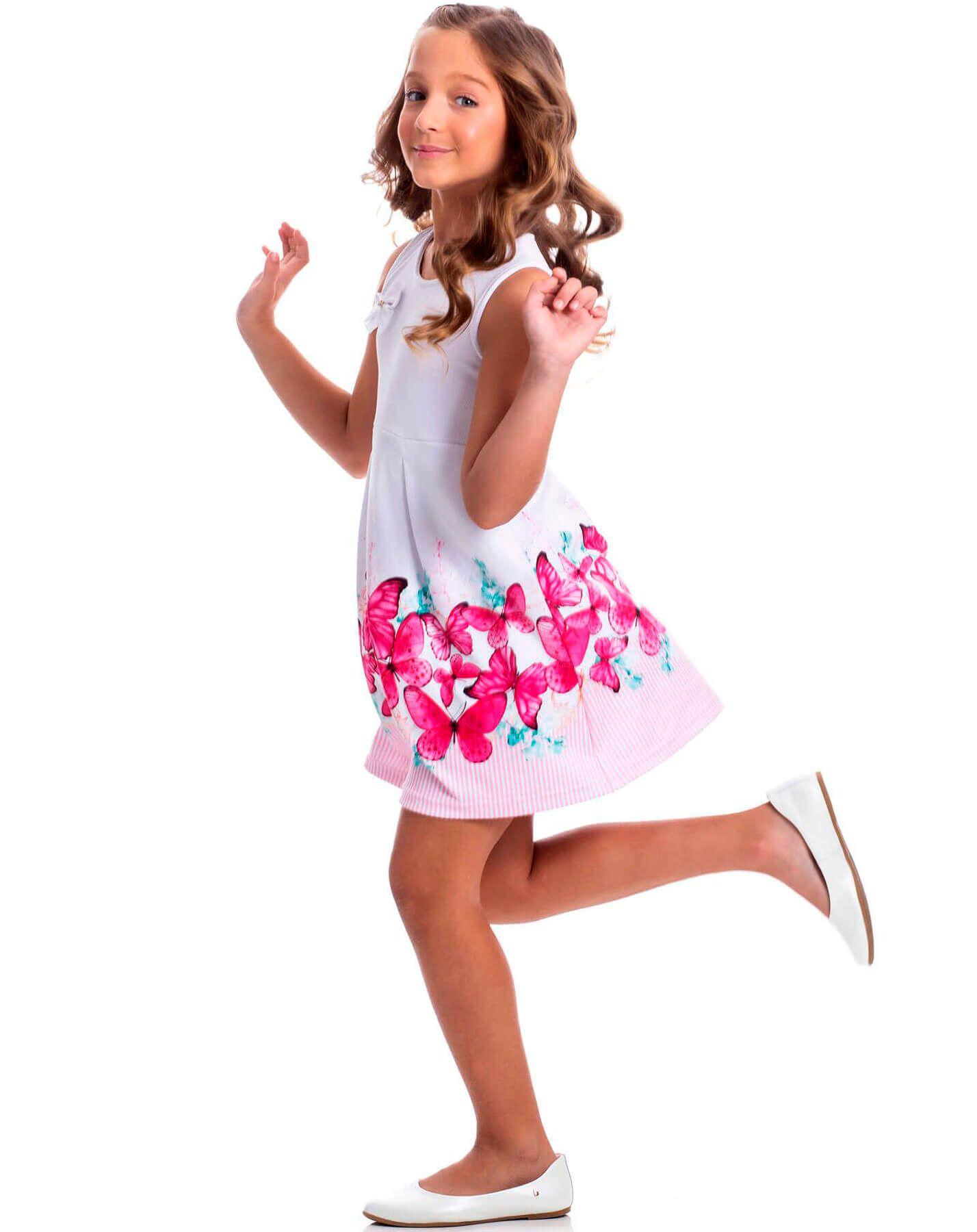 Vestido Infantil Randa Mundu Kloque
