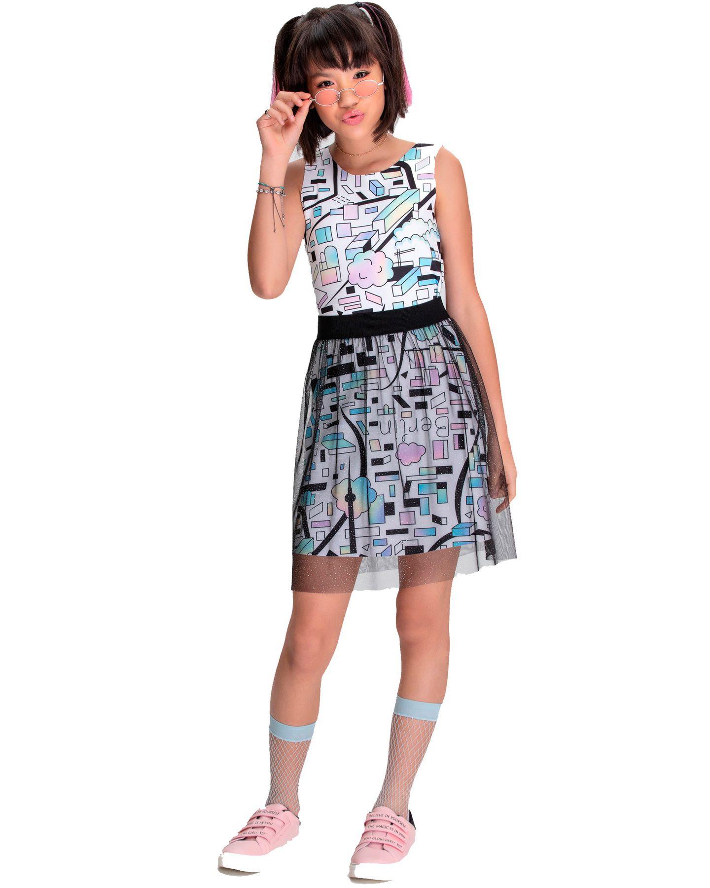 Vestido Juvenil Bobbylulu City