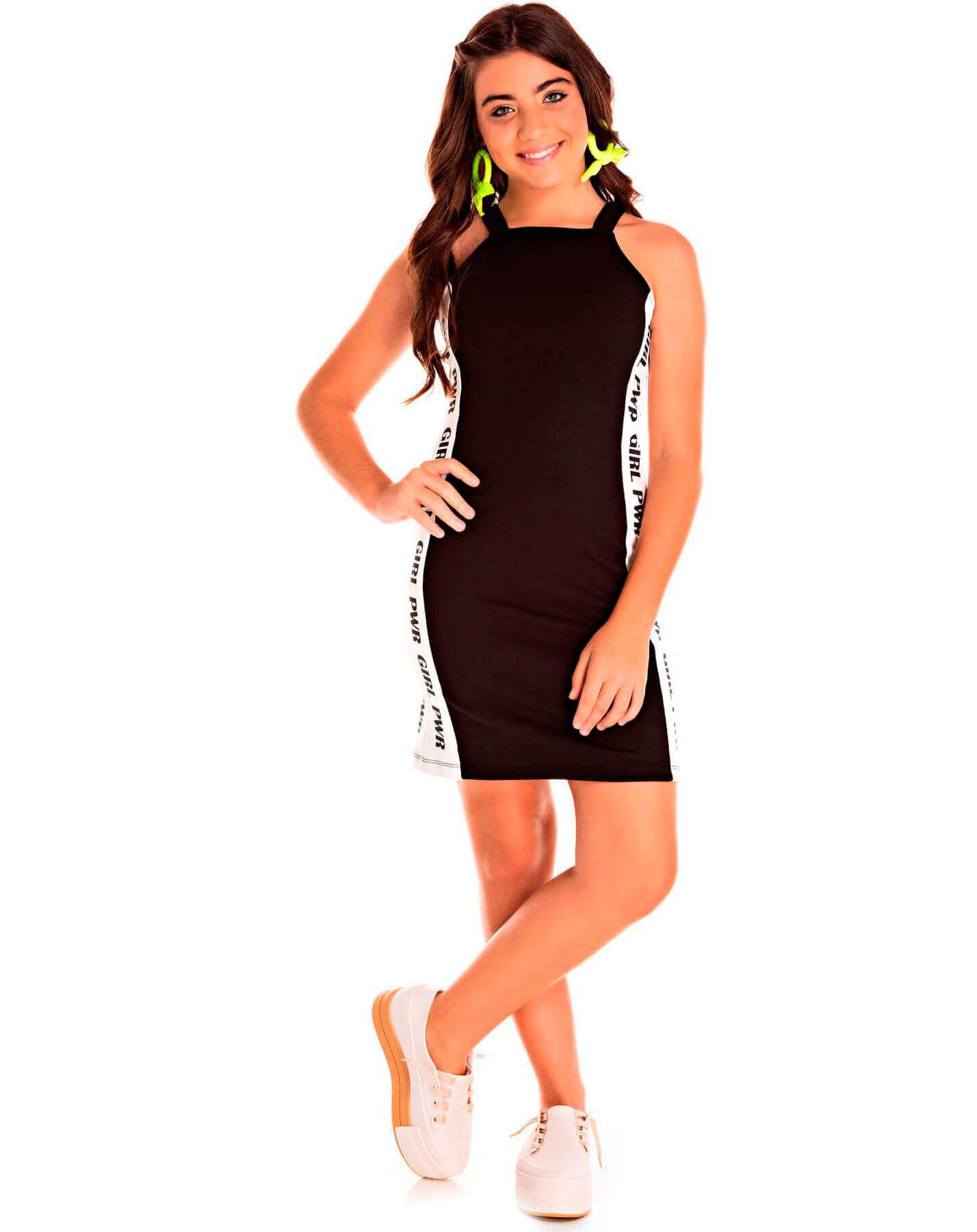 Vestido Juvenil Pic Nic Jacquard Memphis