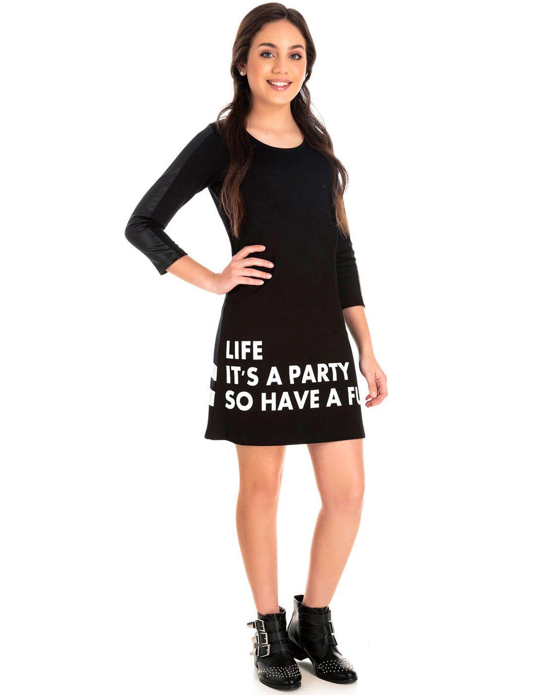 Vestido Juvenil Pic Nic Paty