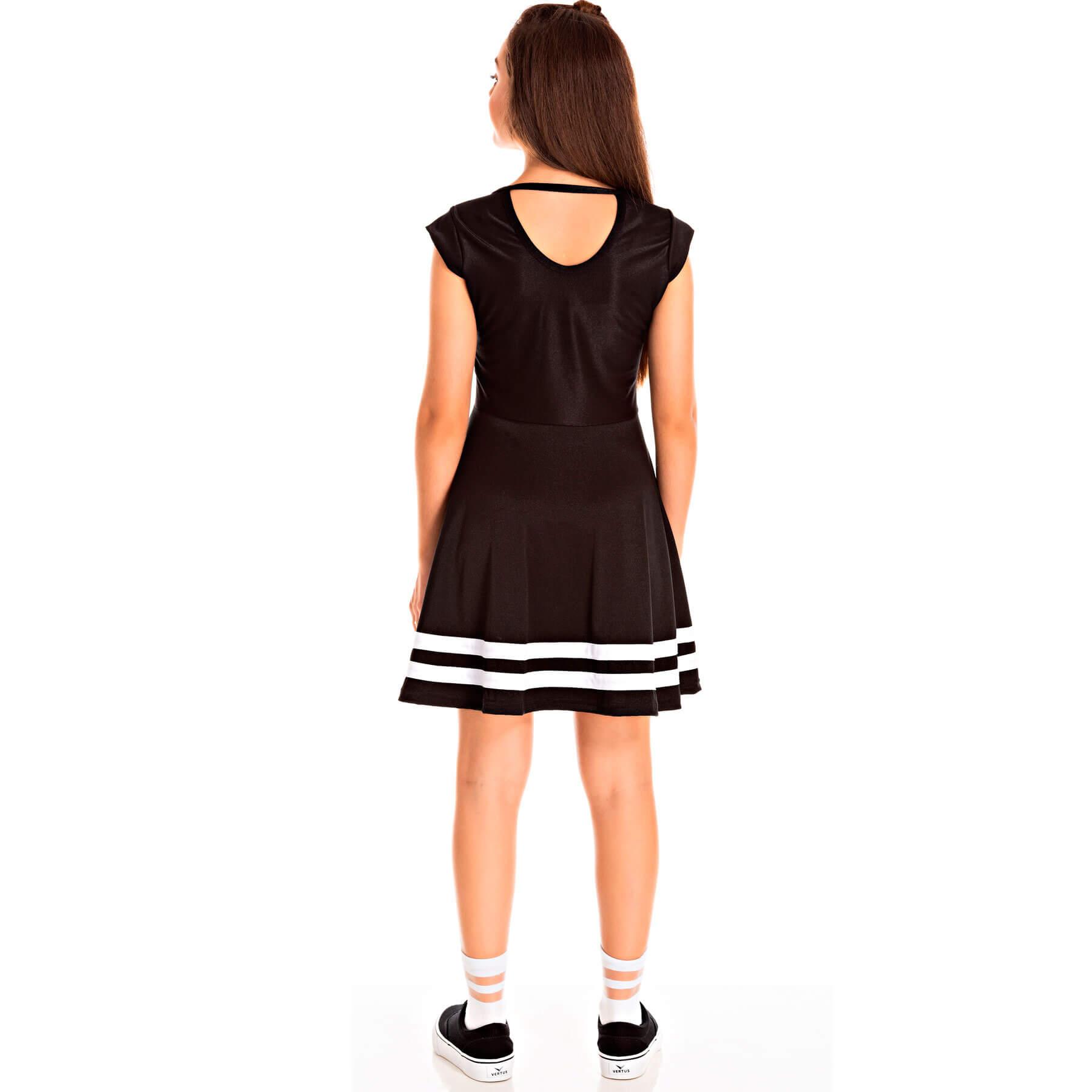 Vestido Juvenil Pic Nic Poly Acetinado