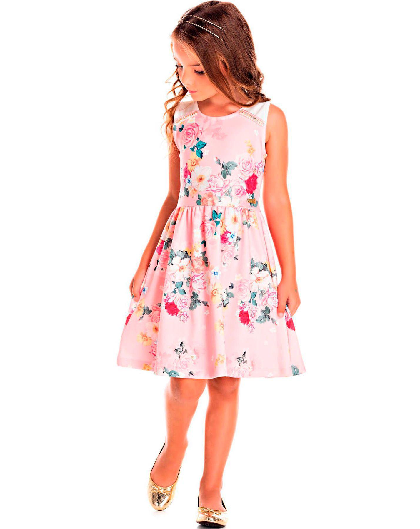 Vestido Pic Nic em Jacquard Floral