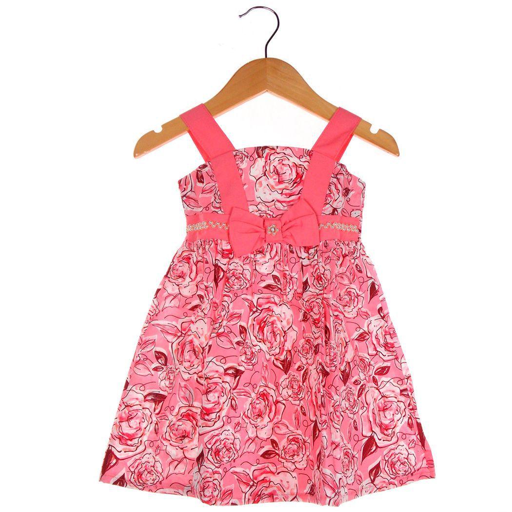 Vestido Turma da Malha  Miss TRM Festa Floral