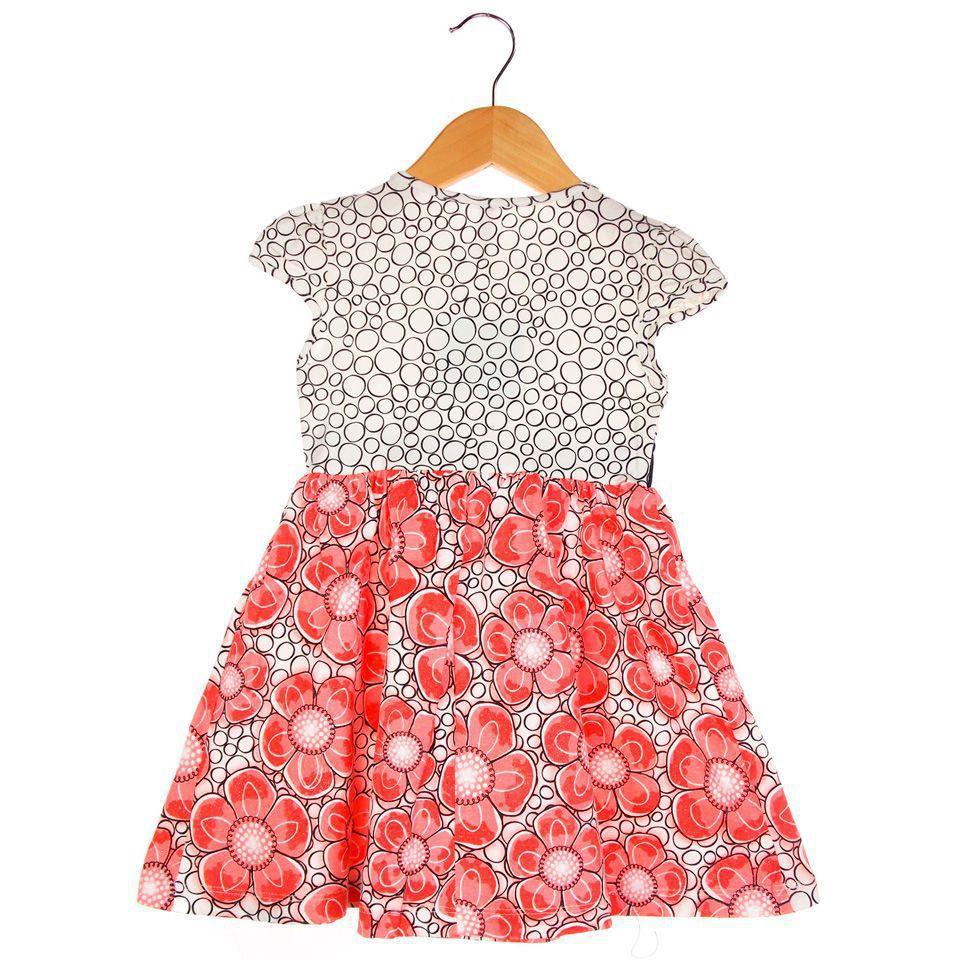 Vestido Turma da Malha Miss TRM Floral Poá