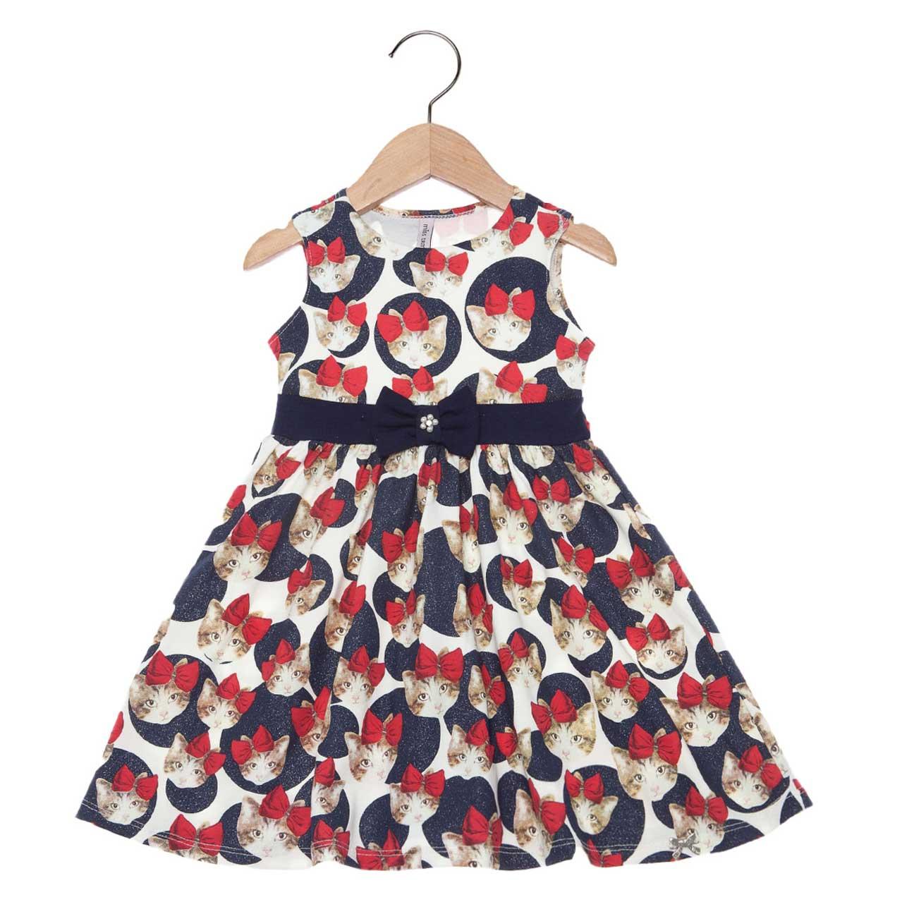 Vestido Turma da Malha Miss TRM Gatinhos