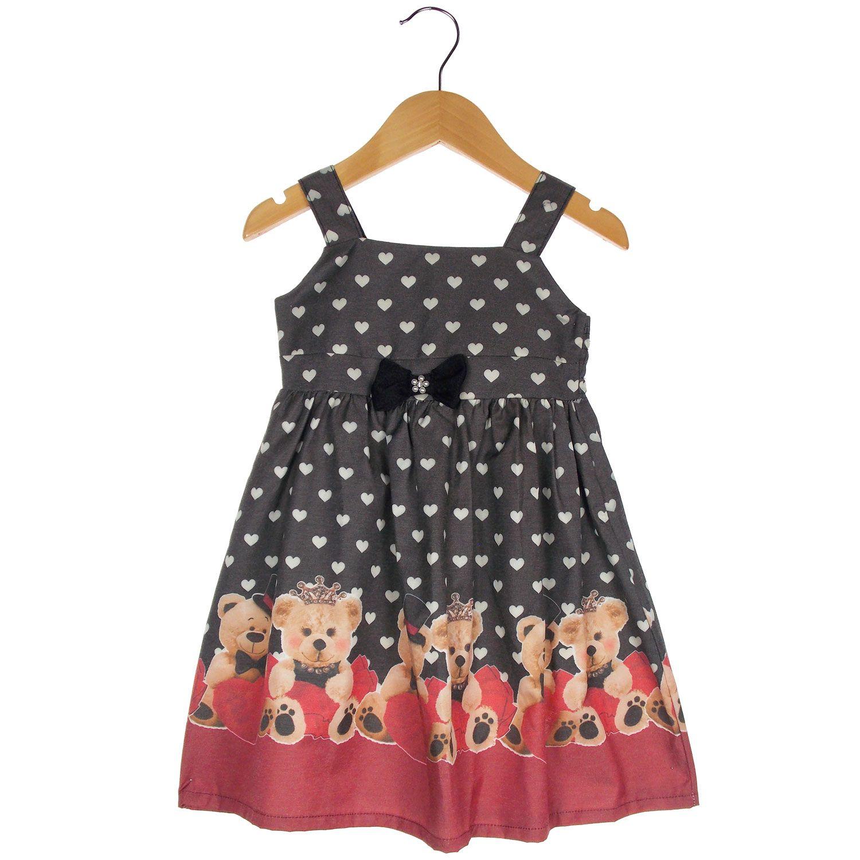 Vestido Turma da Malha  Miss TRM Ursos