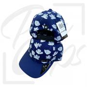 Boné Flor Azul
