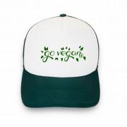 Boné trucker personalizado - Go Vegan 2