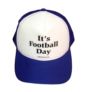 Boné trucker personalizado Rodrigo Adams - It's footbal day