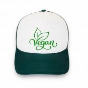 Boné trucker personalizado - Vegan