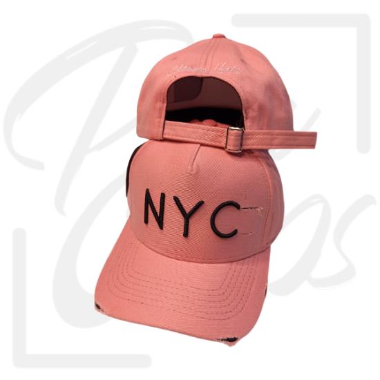 Boné NYC Classic Rosa