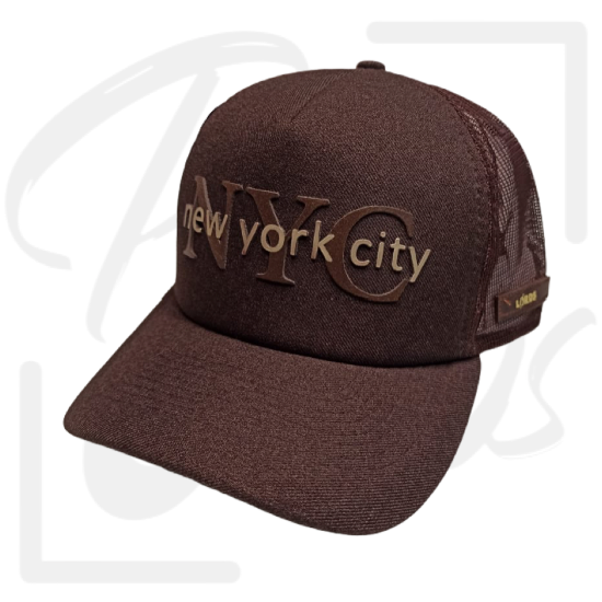 Boné NYC Marrom