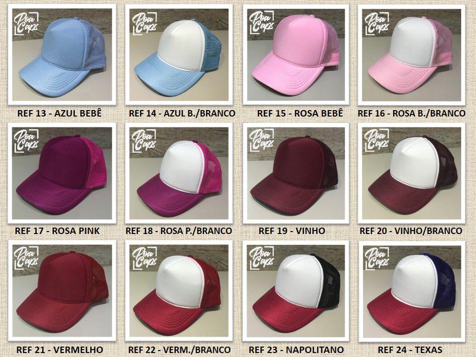 Boné Personalizado - Externo - Poa Caps - Bonés Personalizados 8c75b297b43