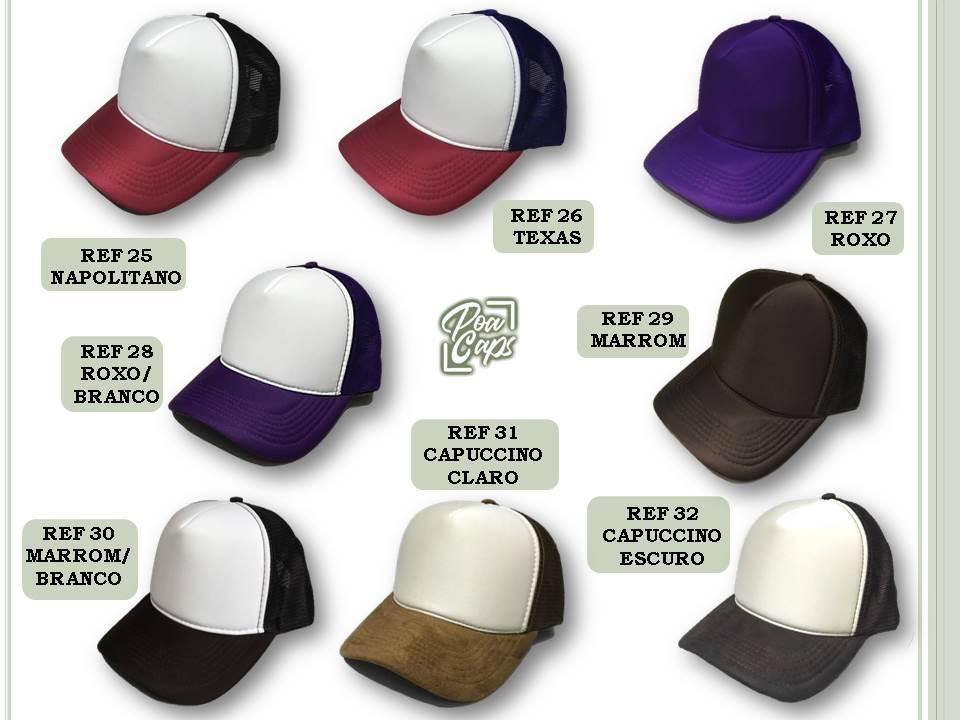 Boné Personalizado - Lote 30 unidades - Poa Caps - Bonés Personalizados 7a72cf4e349