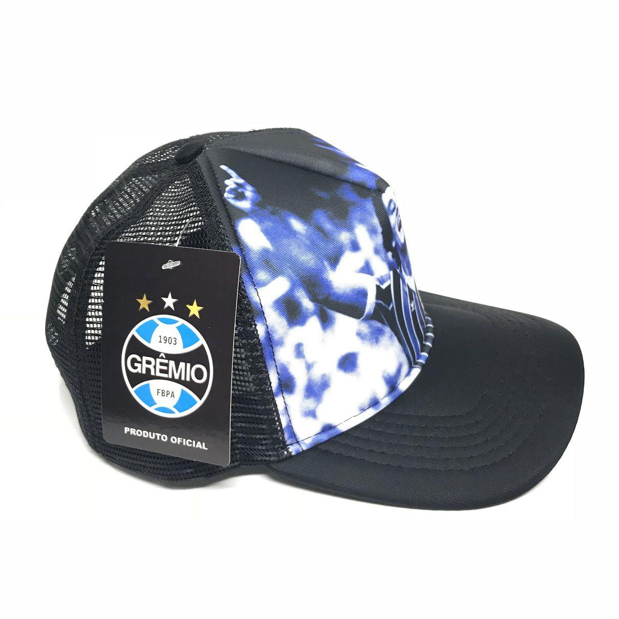Boné trucker Renato Portaluppi Azul - Licenciado