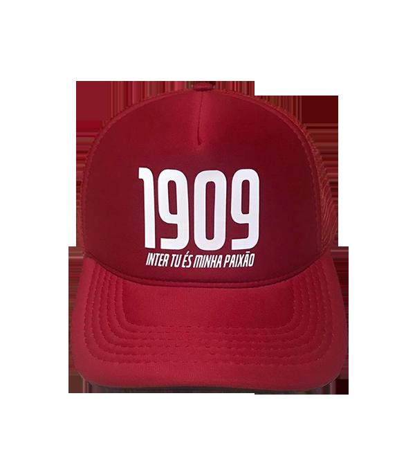 Boné trucker personalizado - 1909 Inter tu és minha Paixão