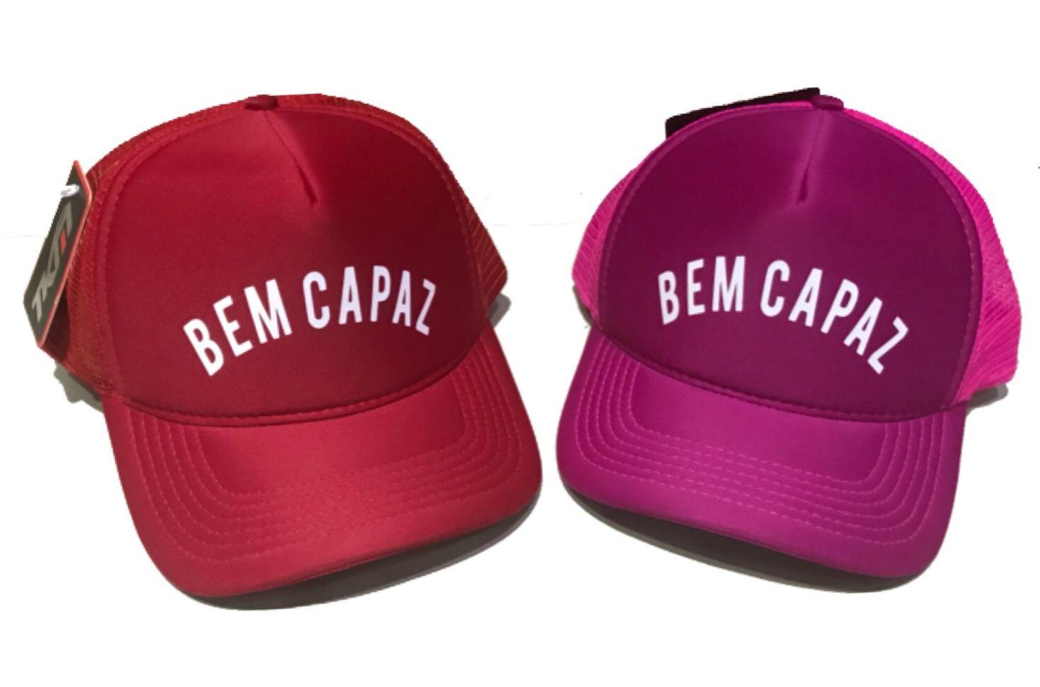 Boné trucker personalizado - BEM CAPAZ