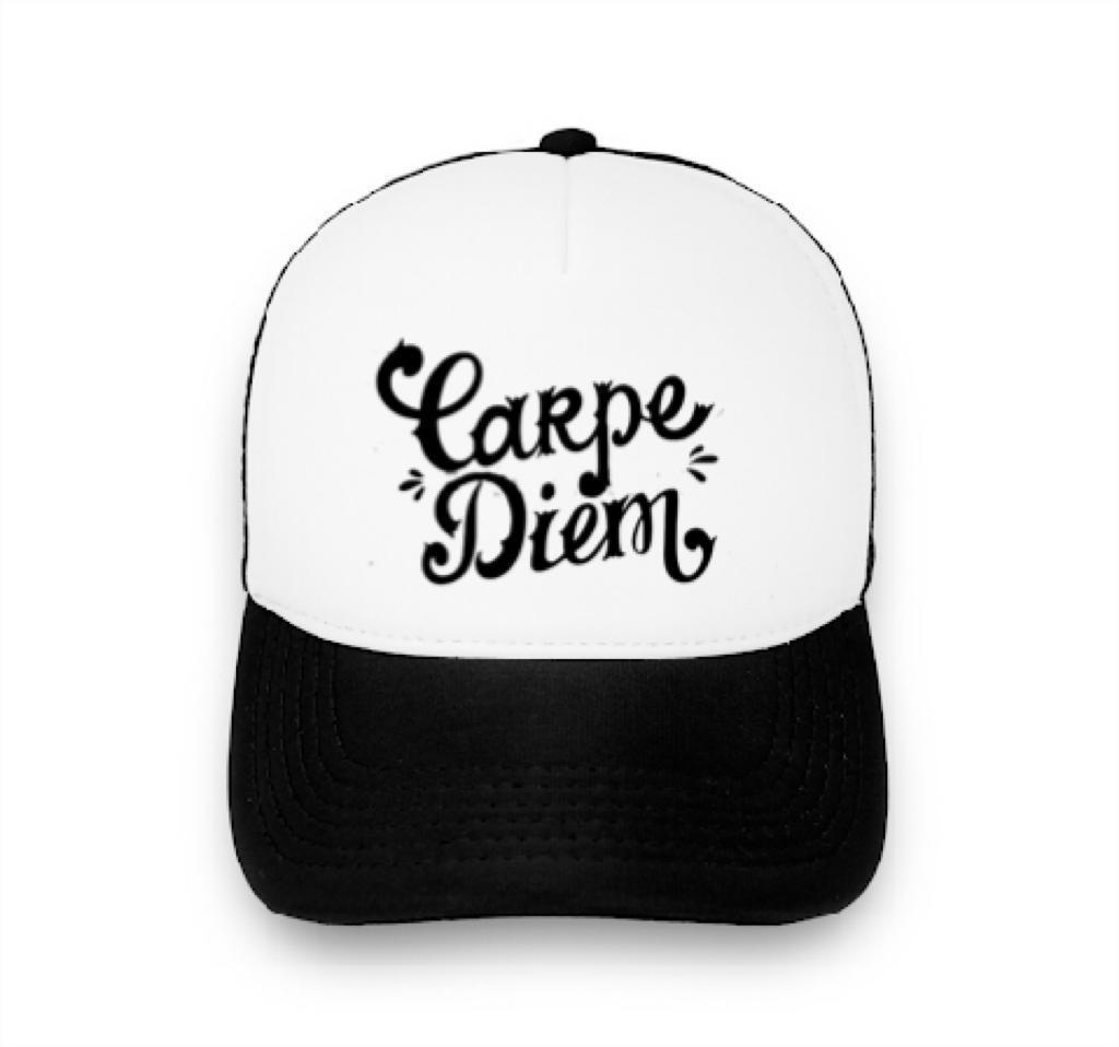Boné trucker personalizado - CARPE DIEM