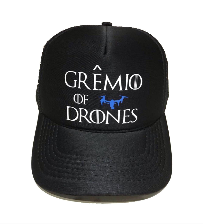 Boné trucker personalizado - Grêmio Of Drones