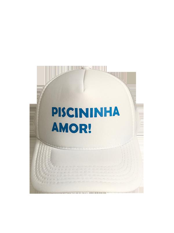Boné trucker personalizado - PISCININHA AMOR!
