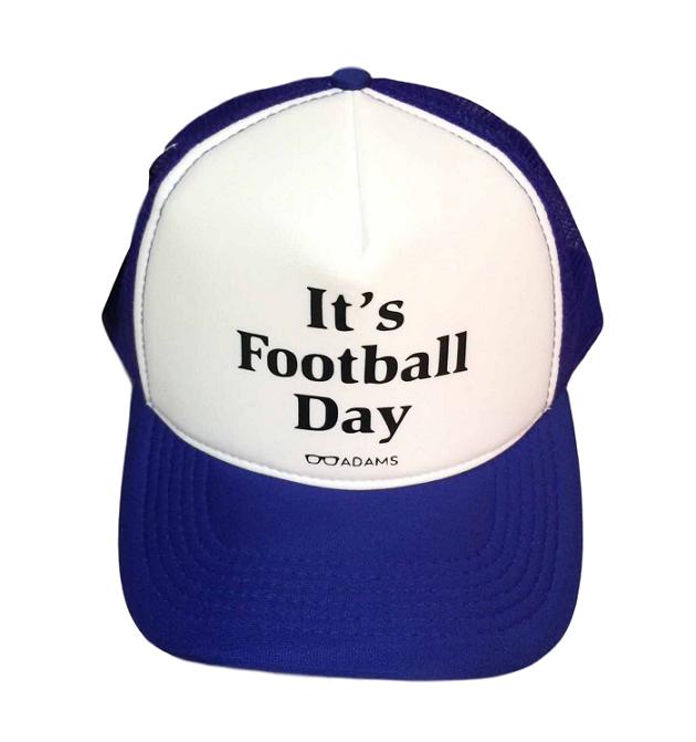 Boné trucker personalizado Rodrigo Adams - It's footbal day
