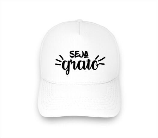 Boné Trucker Personalizado - SEJA GRATO