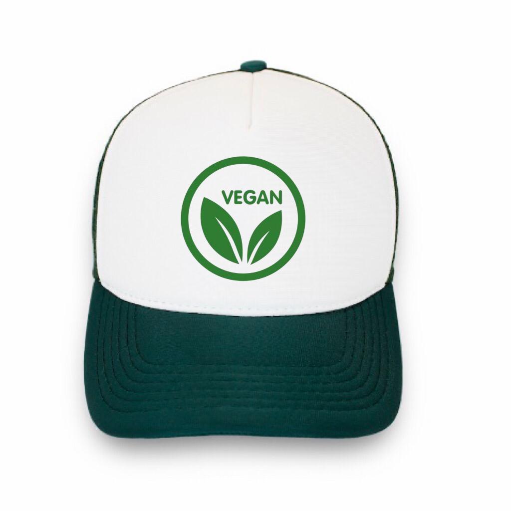 Boné trucker personalizado - Vegan 3